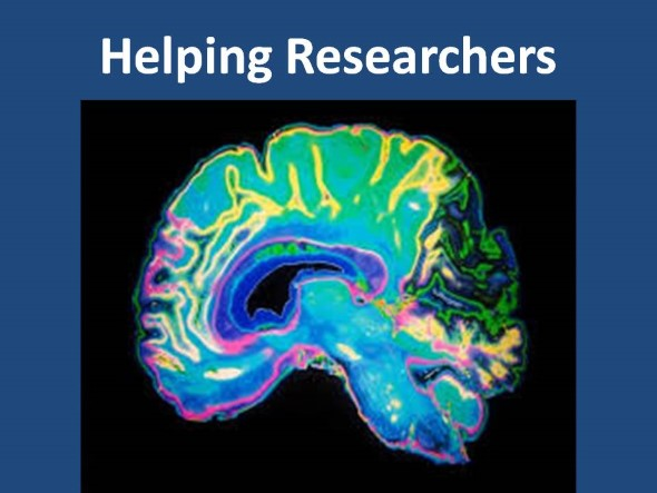 Helping Researchers